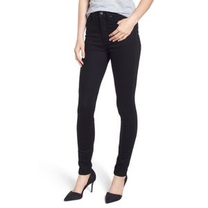 New Caslon High waisted black Sierra skinny jeans